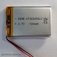 Аккумулятор LP383454LC
